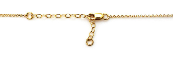 Wholesale gold filled necklace with extender