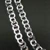 Wholesale Chain, Sterling Silver Flat Circle Chain 3.5mm Bulk Chain by the foot