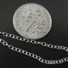 Wholesale Sterling Silver Bulk Chain - 1.3x2mm Small Round Cable Chain (sold per foot)