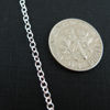 Wholesale Chain, 925 Sterling Silver Vermeil 2mm Strong Cable Chain Bulk Chain by the foot