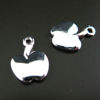 Wholesale Sterling Silver Tiny Apple Charm, Charms and Pendants for Jewelry Making, Wholesale Findings
