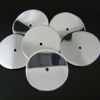 Wholesale Sterling Silver Large Smooth Wavvy Disc Charms and Pendants for Jewelry Making, Wholesale Findings