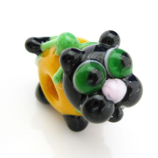 Wholesale Lampwork Bead - Lovely dog pandora bead (1pc)