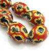 Wholesale Handpainted Porcelain Bead ( 3 pcs )