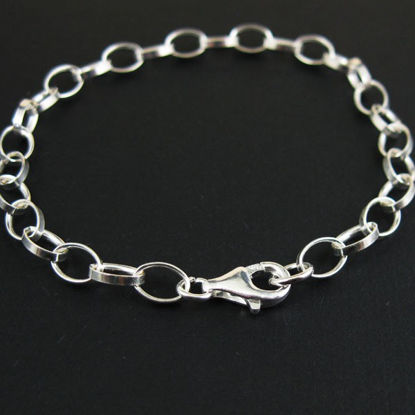 Wholesale Sterling Silver Chunky Cable Oval Chain, Wholesale Necklace Chains