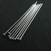 Wholesale Sterling Silver Flat End T Headpins, 27 gauge 2 inch Long, Wholesale Findings