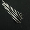 Wholesale Sterling Silver Flat End T Headpins, 27 gauge 1 inch Long, Wholesale Findings