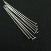 Wholesale Sterling Silver Flat End T Headpins, 24 gauge 2 inch Long, Wholesale Findings