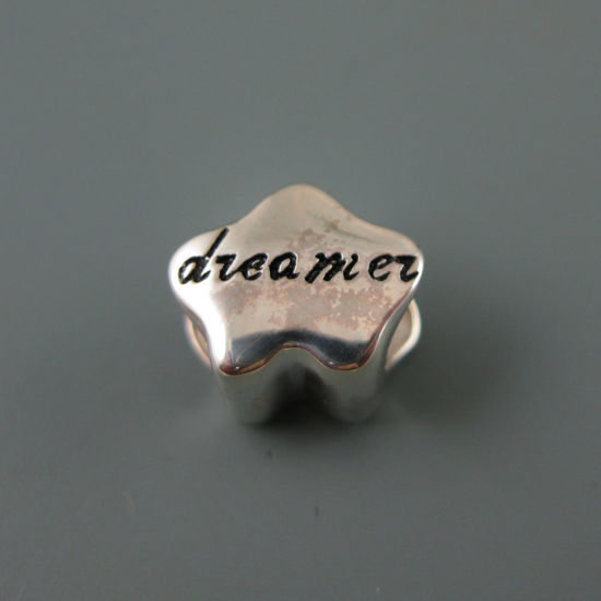 Wholesale European .925 Sterling Silver Dreamer Charm Beads