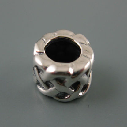 Wholesale European .925 Sterling Silver Celtic Knot Charm Bead
