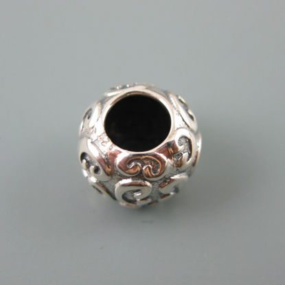 Wholesale European .925 Sterling Fancy Pattern Charm Bead