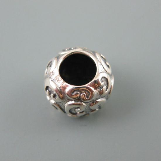 Wholesale European .925 Sterling Fancy Pattern Charm Bead
