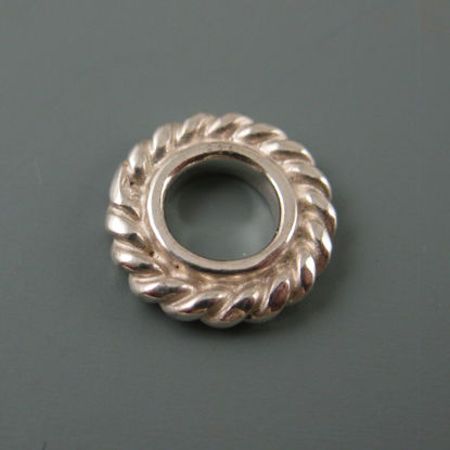 Wholesale European .925 Sterling Silver Fancy Ring Charm Bead