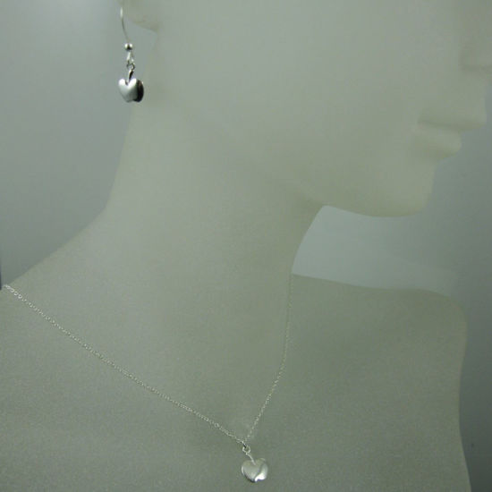 Wholesale 925 Sterling Silver Jewelry Set- Tiny Apple