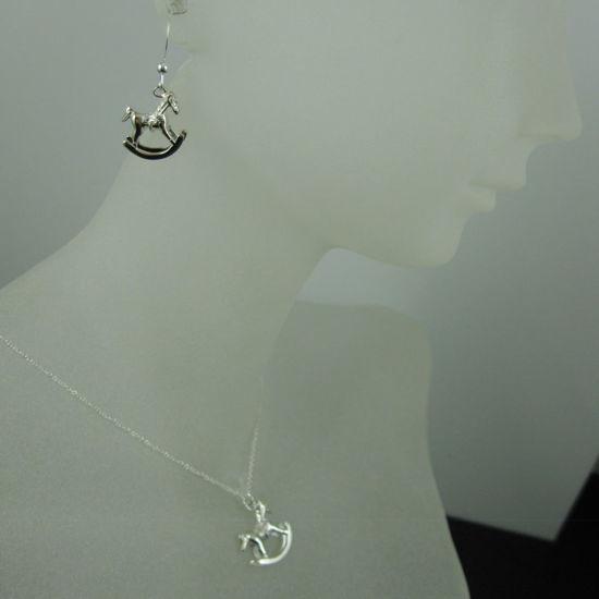 Wholesale 925 Sterling Silver Jewelry Set-Rockinghorse Charm