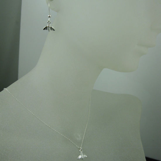 Wholesale 925 Sterling Silver Jewelry Set- Bumblebee Charm