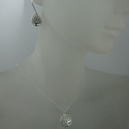 Wholesale 925 Sterling Silver Jewelry Set-Tree of Life