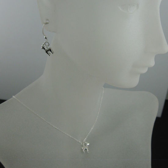Wholesale 925 Sterling Silver Jewelry Set-Reindeer Charm