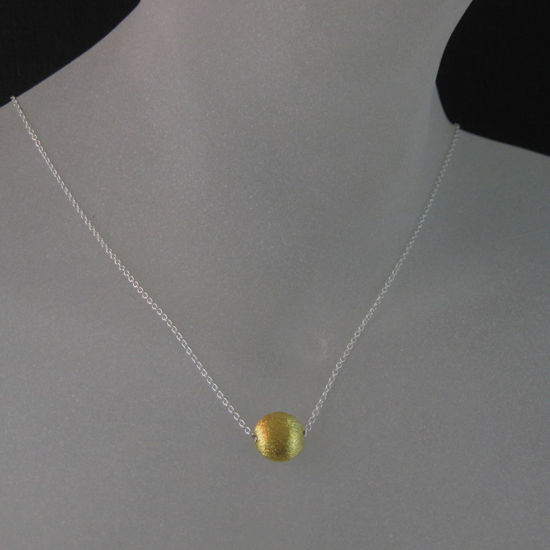 Wholesale 18k Gold plated over Sterling Silver Vermeil Jewelry Set- 8mm Textured Coin