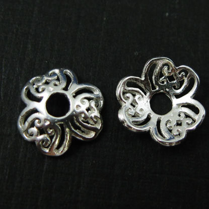 Wholesale Sterling Silver 9mm bead Caps, Wholesale Jewelry Findings