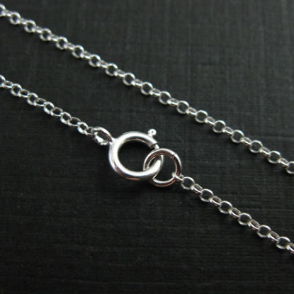 Wholesale Sterling Silver Tiny Rolo Chain, Wholesale Bulk Necklace Chains