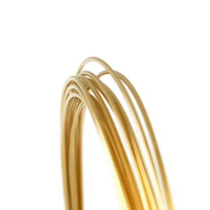 Wholesale 14K Gold Filled Wire - 26 gauge - 0.41mm (Sold Per Foot)