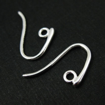 Wholesale Sterling Silver Sleek and Sexy Fishhooks for Jewelry Making, Wholesale Earwire and Findings