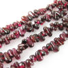 Wholesale Garnet Beads - Tiny Smooth Chips - January Birthstone (Sold Per Strand)