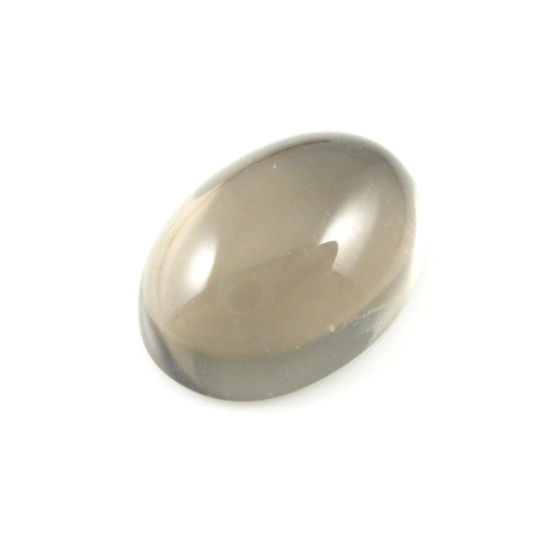Wholesale Cabochon Smoky Quartz Oval, 13x18mm, Grade A