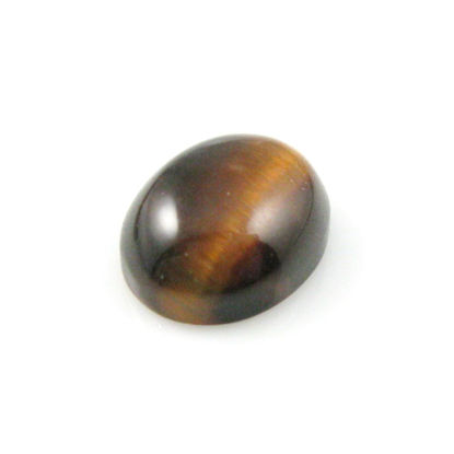 Wholesale Cabochon Tiger's Eye Oval, 8x10mm, Grade A