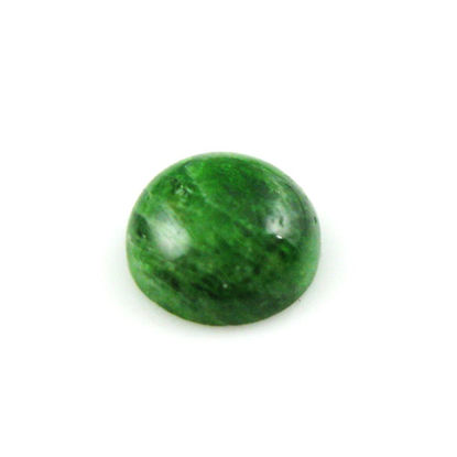 Wholesale Cabochon Chrome Diopside Round, 10mm, Grade A-