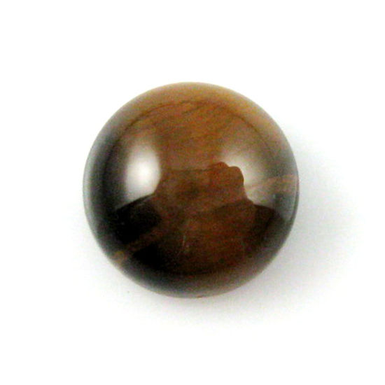 Wholesale Cabochon Tiger's Eye Round, 8mm, Grade A
