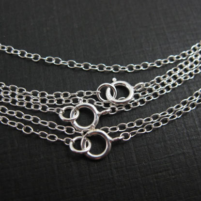 Wholesale Sterling Silver Finished Chain - Oval Cable Chain