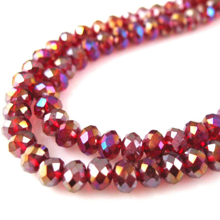 Picture for category Rondelle Crystal Glass Beads