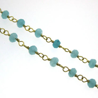 Wholesale Gold over Sterling Silver Peru Rosary Chain By the Foot