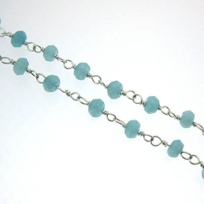 Wholesale Sterling Silver Peru Rosary Chain By the Foot