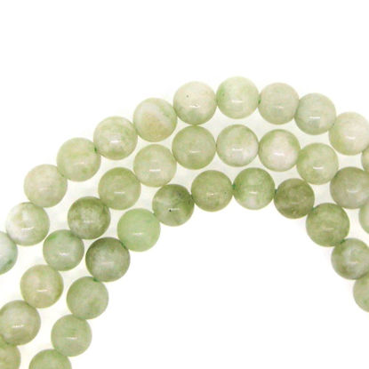 Wholesale New Jade Beads - 6mm Round Smooth (Sold Per Strand)