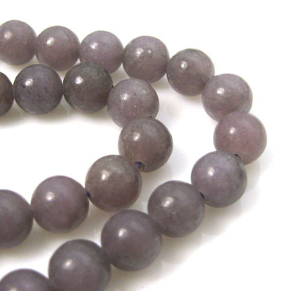 Wholesale Lepidolite - Smooth Round Beads - 8mm (sold per strand)