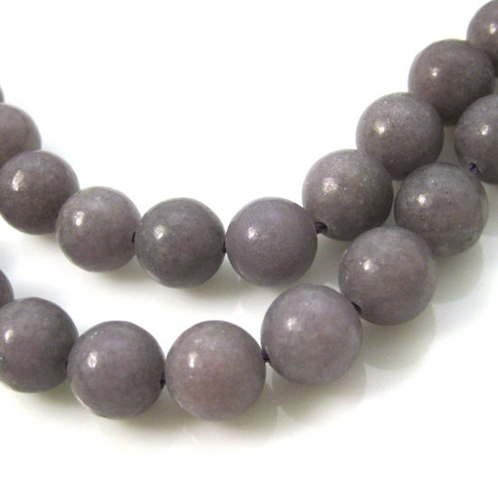 Wholesale Lepidolite - Smooth Round Beads - 10mm (sold per strand)