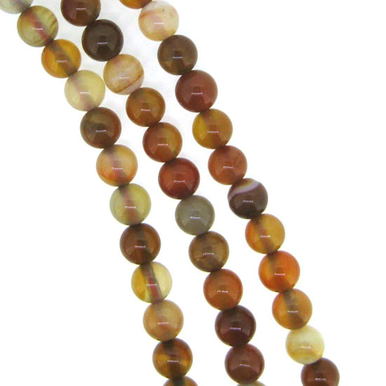 Wholesale Carnelian - Smooth Round Beads - 6mm (sold per strand)