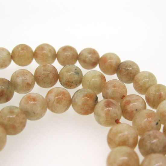 Wholesale Sunstone - Smooth Round Beads - 8mm (sold per strand)