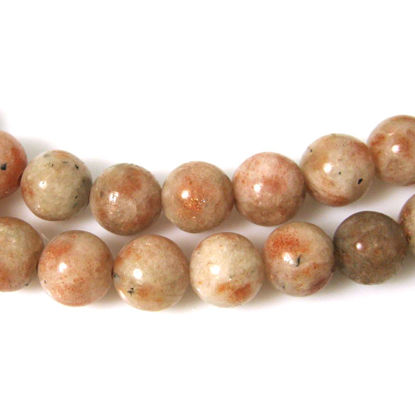 Wholesale Sunstone - Smooth Round Beads - 10mm (sold per strand)