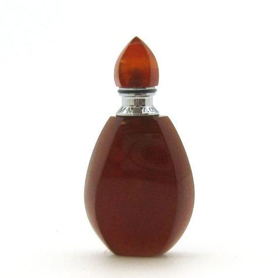 Wholesale Carnelian Luxury essential oil bottle- Fire Flame Shape