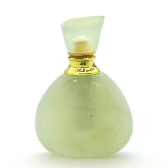 Wholesale New Jade Gold Plated Luxury essential oil bottle- Triangle Shape