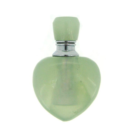 Wholesale New Jade Luxury essential oil bottle- Heart Shape