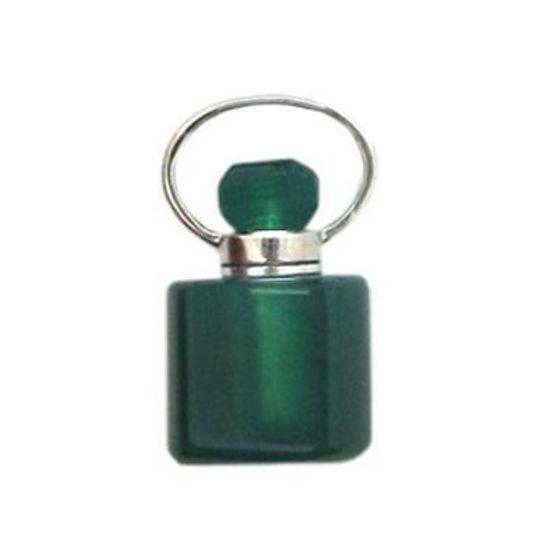 Wholesale Green Agate Essential oil bottle, Mini 2- Square Shape