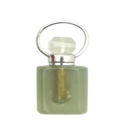 Wholesale New Jade Essential oil bottle, Mini 2- Square Shape