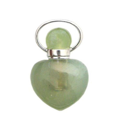 Wholesale New Jade essential oil bottle, Mini 2- Heart Shape