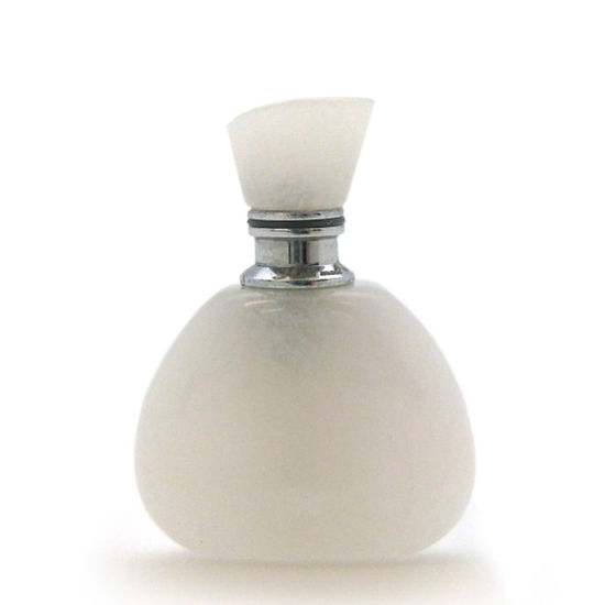 Wholesale White Jade Luxury essential oil bottle - Triangle Shape