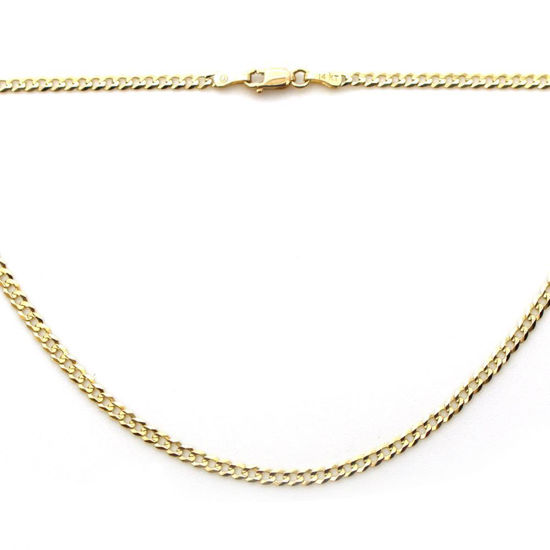 Wholesale 14K Yellow Gold Necklace - Curb Chain - 20 inches